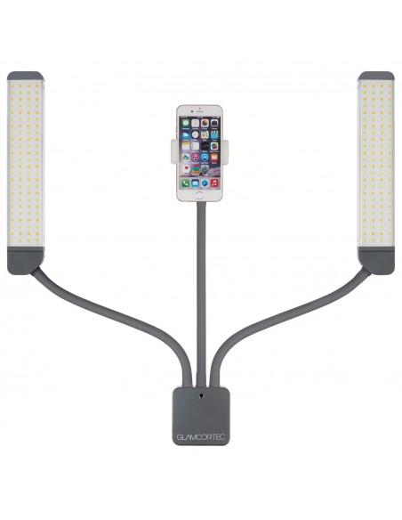 Multimedia med selfie funktion, varmt og koldt lys